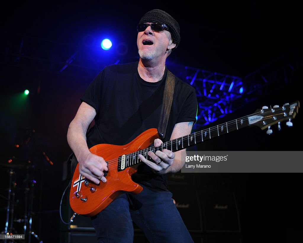 Mark Kendall of Great White performs at Seminole Casino Coconut Creek on December 15, 2012 in Coconut Creek, Florida.