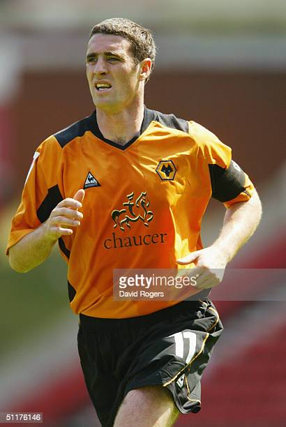 Mark Kennedy of Wolverhampton Wanderers during the Coca-Cola Football League Championship match between Stoke City and Wolverhampton Wanderers at The...
