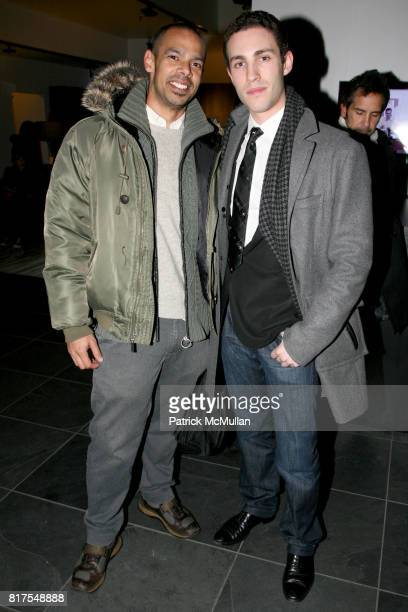 Mark King and Robert Reus attend 8th Annual BoCONCEPT/KOLDESIGN Holiday Party at Bo Concept Madison Ave on December 14th 2010 in New York City