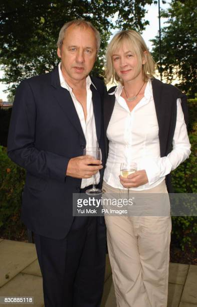 Mark Knopfler and his wife Kitty arriving for a private reception celebrating a major retrospective of the painter Lucian Freud at Tate Britain in...