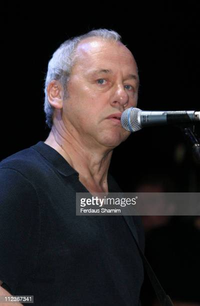Mark Knopfler during Bill Wyman Show at Royal Albert Hall London in London Great Britain