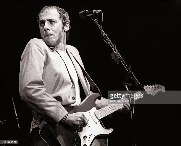 Mark Knopfler from Dire Straits performs live at Ahoy Rotterdam Holland on June 16 1983