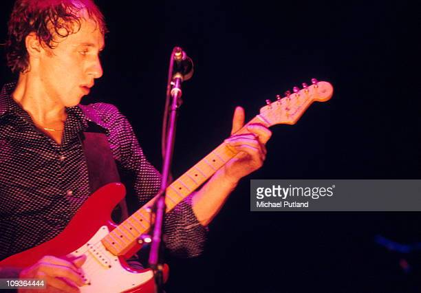 Mark Knopfler of Dire Staits performs on stage New York 1979