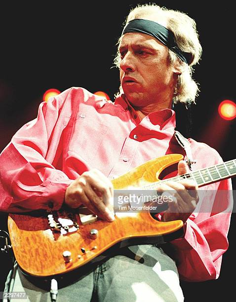 Mark Knopfler of Dire Straits performing at Oakland Colusium in Oakland Calif on Feb 2nd 1992 Image By Tim Mosenfelder/ImageDirect