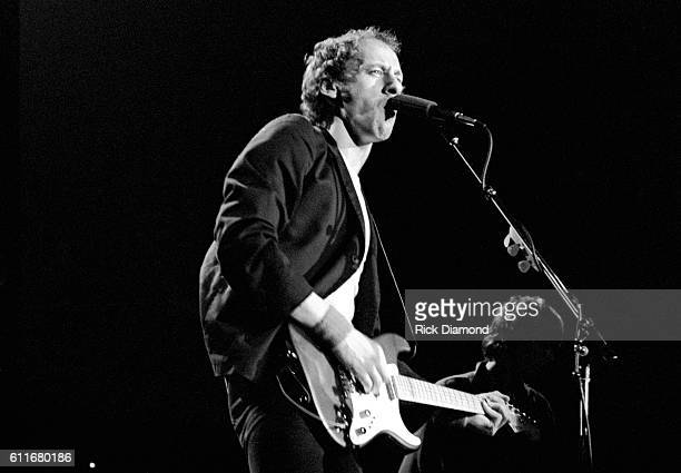 Mark Knopfler of Dire Straits performs at The Agora Ballroom in Atlanta Ga on November 8 1980