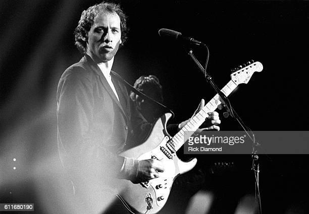 Mark Knopfler of Dire Straits performs at The Agora Ballroom in Atlanta Ga on November 8 1980