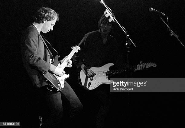 Mark Knopfler of Dire Straits performs at The Agora Ballroom in Atlanta Georgia on November 8 1980