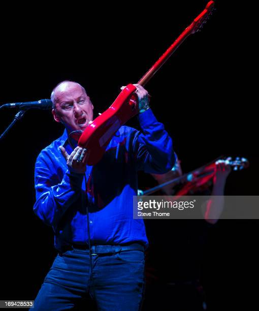 Mark Knopfler performs at LG Arena on May 24 2013 in Birmingham England