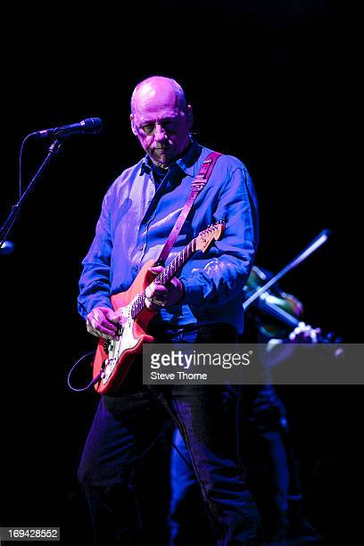 Mark Knopfler performs at LG Arena on May 24, 2013 in Birmingham, England.