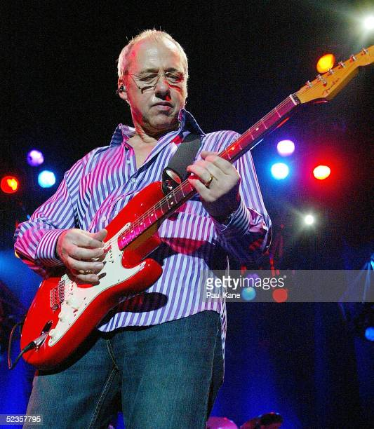 Mark Knopfler performs at the Burswood Dome on March 10, 2005 in Perth, Australia.