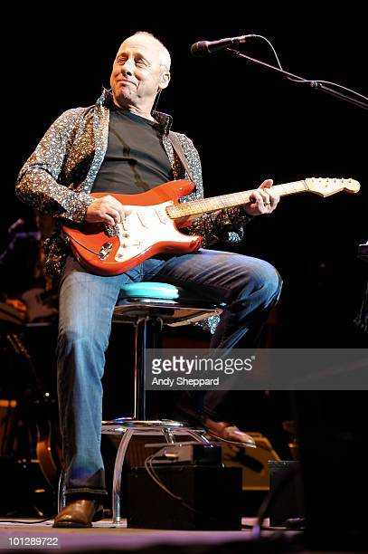 Mark Knopfler performs at The Royal Albert Hall on May 30 2010 in London England