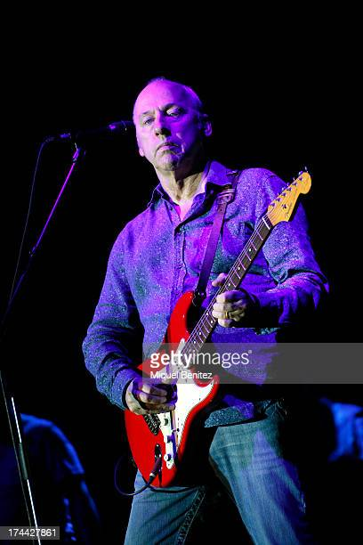 Mark Knopfler performs his 'Mark Knopfler European Tour 2013' on July 25 2013 in Barcelona Spain
