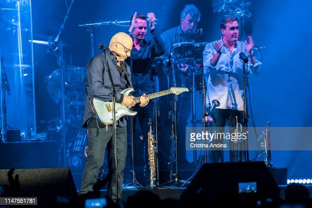 Mark Knopfler Performs In Concert In Coliseum A Coruna on May 3 2019
