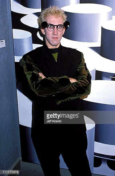 Mark Kostabi during Party for artist Kostabi in Beverly Hills California United States