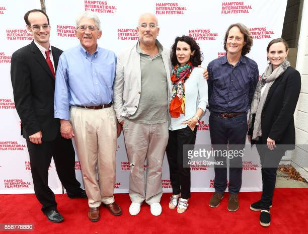 Mark Kresowik Larry Cantwell Jon Kamen Katherine Oliver David Rattray and Theresa Ward attend the photo call for the film From the Ashes during...