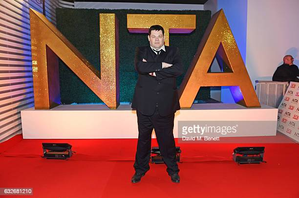 Mark Labbett aka The Beast attends the National Television Awards on January 25 2017 in London United Kingdom