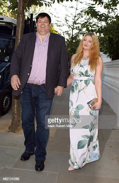 Mark Labbett attending the ITV summer party in Notting Hill on July 9 2015 in London England