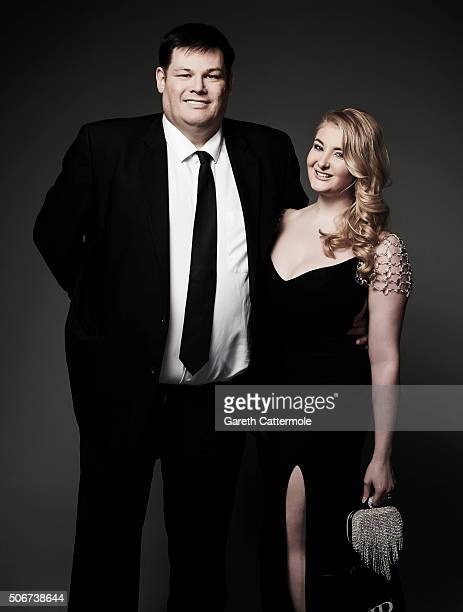 Mark Labbett poses in the Portrait Studio during the 21st National Television Awards at The O2 Arena on January 20 2016 in London England