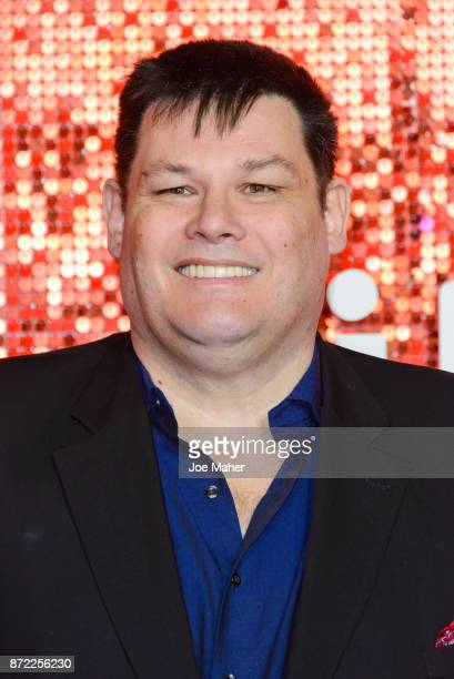 Mark Labbett arriving at the ITV Gala held at the London Palladium on November 9 2017 in London England