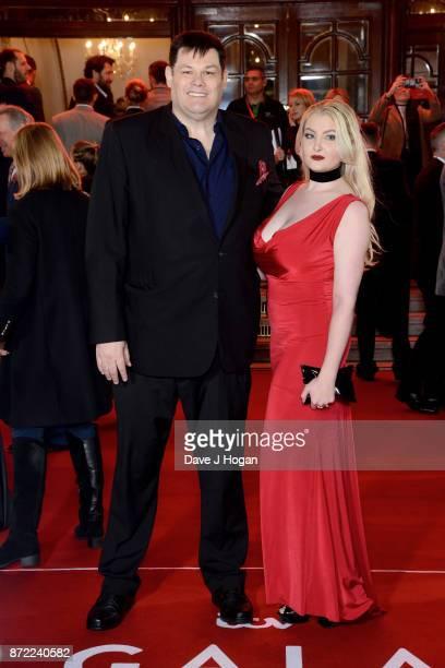 Mark Labbett attends the ITV Gala held at the London Palladium on November 9 2017 in London England