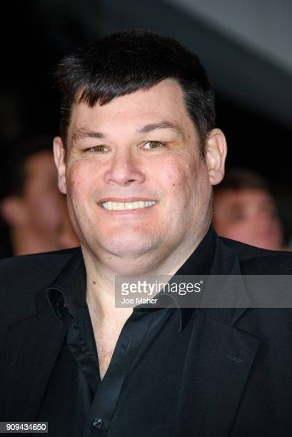 Mark Labbett attends the National Television Awards 2018 at The O2 Arena on January 23 2018 in London England