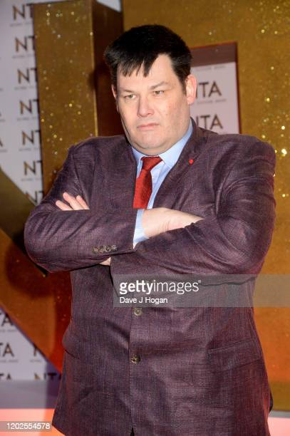 Mark Labbett attends the National Television Awards 2020 at The O2 Arena on January 28 2020 in London England