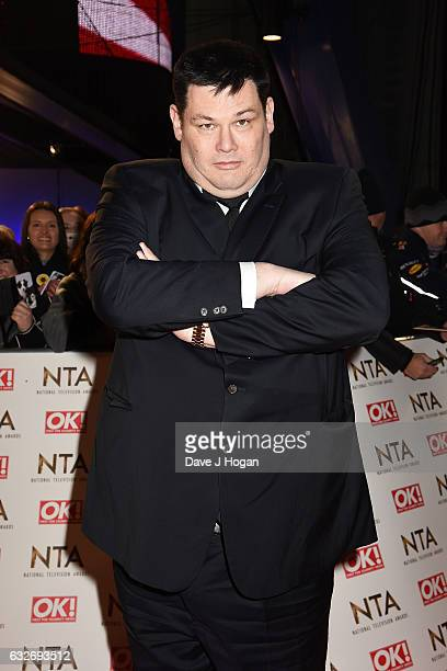 Mark Labbett attends the National Television Awards at Cineworld 02 Arena on January 25 2017 in London England