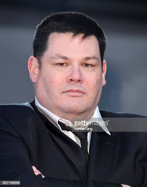 Mark Labbett attends the National Television Awards at The O2 Arena on January 25 2017 in London England
