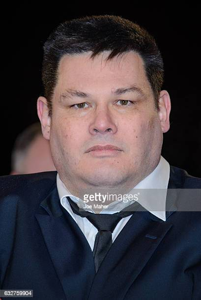 Mark Labbett attends the National Television Awards on January 25 2017 in London United Kingdom