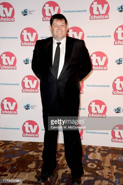 Mark Labbett attends The TV Choice Awards 2019 at Hilton Park Lane on September 09 2019 in London England