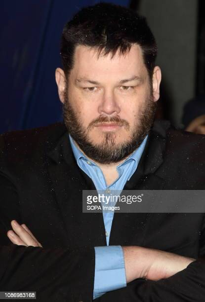 Mark Labbett seen on the red carpet during the National Television Awards at the O2 Peninsula Square in London