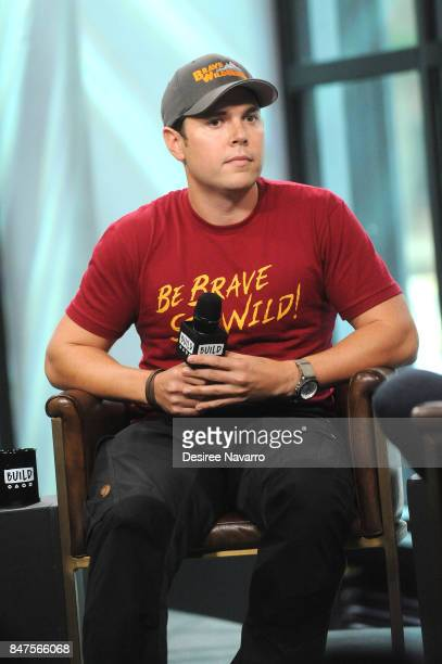 Mark Laivins attends Build to discuss 'Coyote Peterson's Brave Adventures Wild Animals In A Wild World' at Build Studio on September 15 2017 in New...