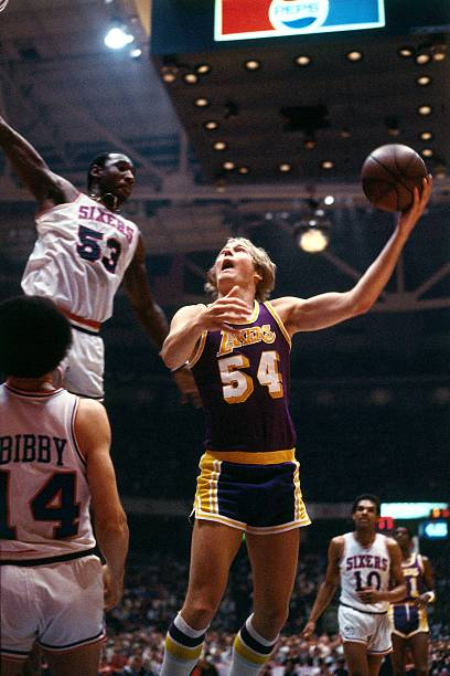 Mark Landsberger of the Los Angeles Lakers