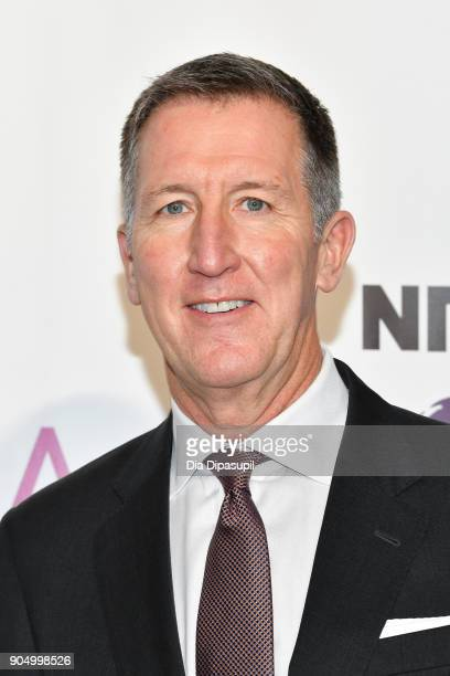 Mark Larson attends the 2018 National Retail Federation Gala at Pier 60 on January 14 2018 in New York City