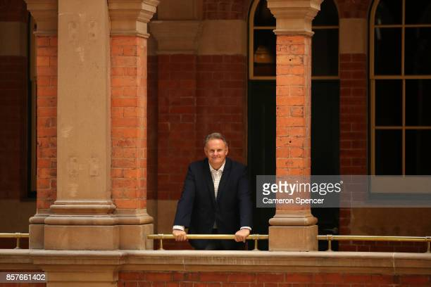 Mark Latham poses for a portrait during the launch of Mark Latham's new book 'Outsiders I won't be silenced' on October 5 2017 in Sydney Australia...