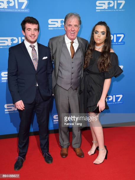 Mark Lawrenson and family attend the BBC Sports Personality of the Year 2017 Awards at the Echo Arena on December 17 2017 in Liverpool England