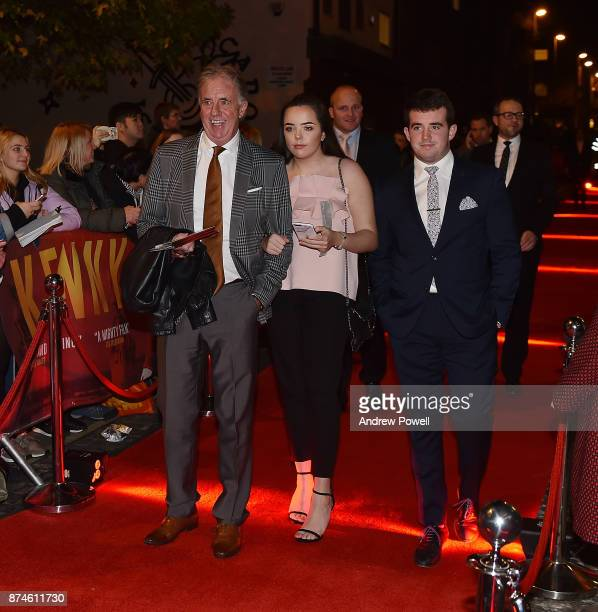 Mark Lawrenson arrives at the Kenny film premiere at the FACT cinema on November 15 2017 in Liverpool England