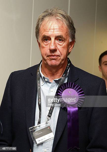 Mark Lawrenson attends the annual BGC Global Chariry Day at BGC Partners on September 11 2015 in London England