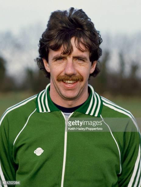Mark Lawrenson of the Republic of Ireland in Dublin 5th February 1981