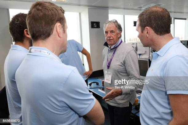 Mark Lawrenson representing CaudwellÊattends the GFI Charity Day 2017on September 11 2017 in London England