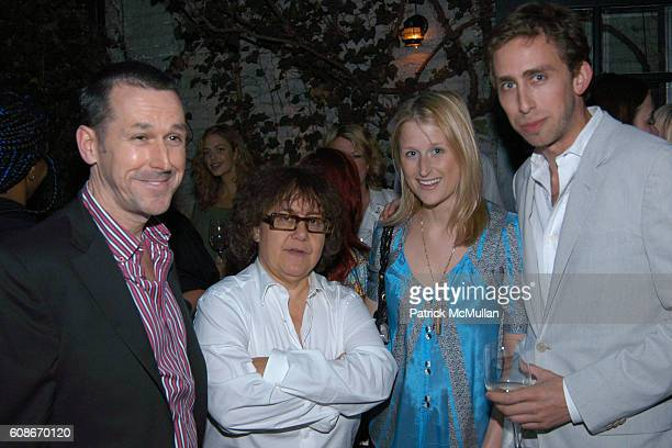 Mark Lee Ingrid Sischy Mamie Gummer and Oliver Kramer attend Ingrid Sischy Sandy Brant Host a Dinner for Frida Giannini at Waverly Inn on June 14...