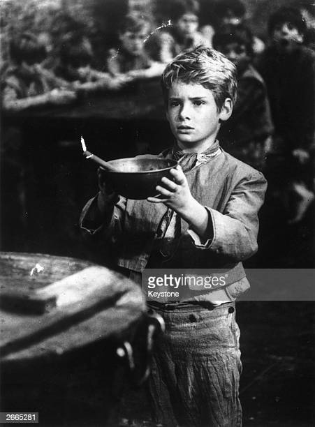 Mark Lester as Oliver Twist in the film 'Oliver'.