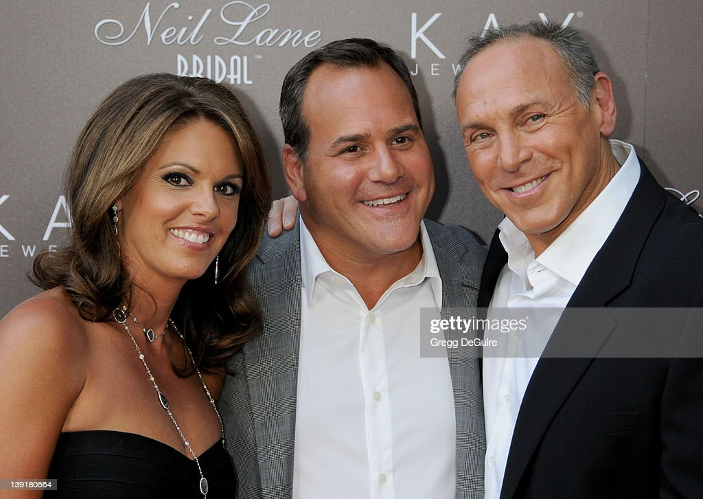 087c74cc3 Mark Light, CEO of Kay Jewelers, wife Andie Light and Neil Lane ...