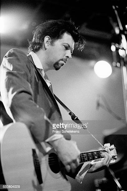 Mark Linkous, guitar and vocals, performs with Sparklehorse on September 16th 1998 at the Melkweg in Amsterdam, Netherlands.