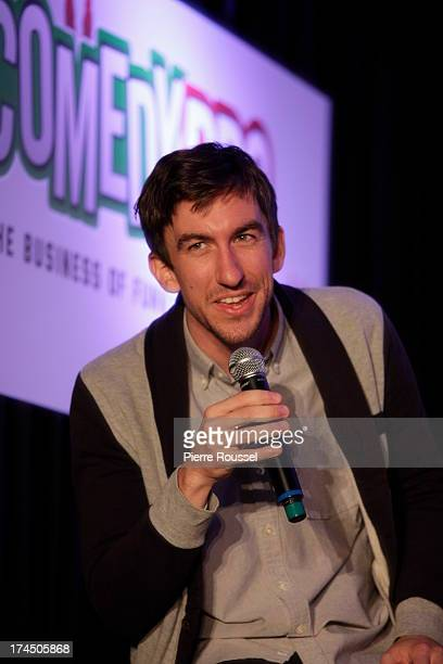 Mark Little attends the Variety 10 Comics To Watch Uncensored panel at the Hyatt Regency July 26 2013 in Montreal Canada
