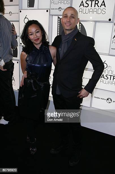 Mark Lizotte and his wife arrives for the 6th Annual ASTRA Awards at the Hordern Pavillion on April 21 2008 in Sydney Australia