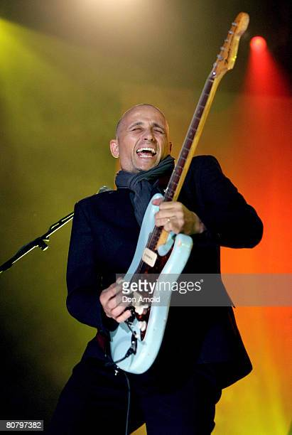 Mark Lizotte performs live on stage during the 6th Annual ASTRA Awards at the Hordern Pavillion on April 21 2008 in Sydney Australia