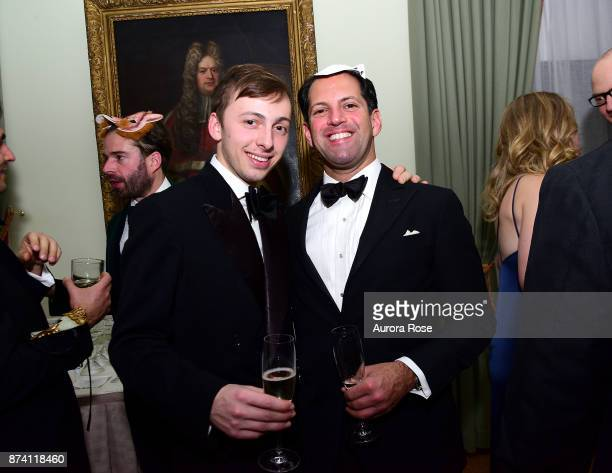 Mark Lowenstein and David Dundas attend Search and Care's Annual Yorkville Ball at Private Club on November 10 2017 in New York City