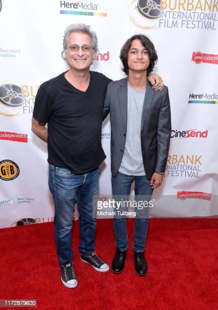 "Mark Mangini and actor Rio Mangini attends the premiere of ""Relish"" at the Burbank International Film Festival at AMC Burbank 16 on September 06,..."