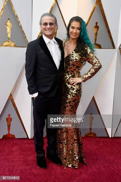 Mark Mangini and Ann Mangini attend the 90th Annual Academy Awards at Hollywood & Highland Center on March 4, 2018 in Hollywood, California.